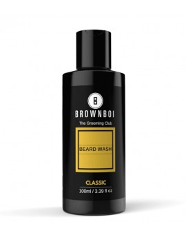 BrownBoi Premium Beard Wash, Classic