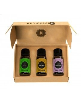 BrownBoi Essential Oils Combo Tea Tree Lavender Argan For Skin & Face Set Of 3