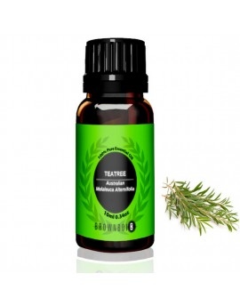BrownBoi BBEO Tea Tree Essential Oil For Face Acne Prone Skin Tags Pimples & Blemishes Removal & Hair Care