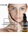 BrownBoi Vitamin C Serum Plus For Face and Skin Whitening Pigmentation Stretch Marks With Hyaluronic Kojic Acid