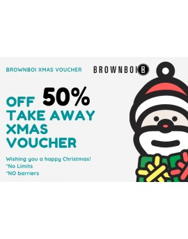 BrownBoi Xmas 50% Off Voucher