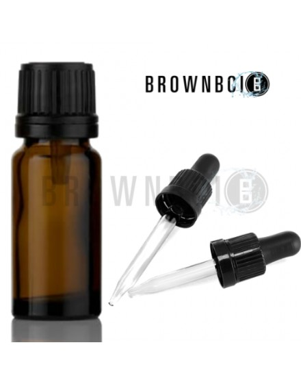 BrownBoi Refill Essential Oil Bottles Pack Of 4