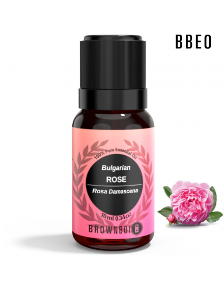 BrownBoi Bulgarian Rose Otto Damascena Essential Oil