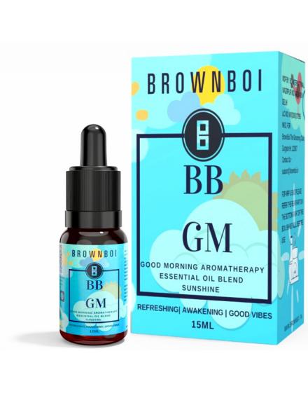 BrownBoi BBGM Good Morning Aromatherapy Essential Oils Blend