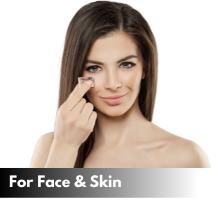 vanilla oil face skin