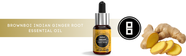 BrownBoi Indian Ginger Root Essential Oil